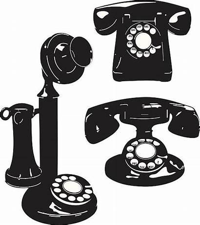 Illustrations Telephone Telephones Vector Clip Antique Illustration