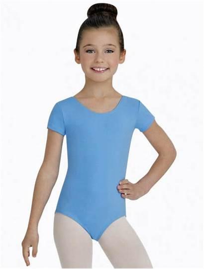 Leotard Child Nylon Short Capezio Dancewear Sleeve