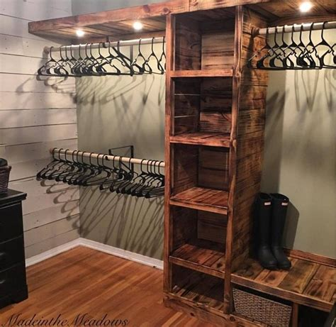 25 best ideas about rustic closet on rustic