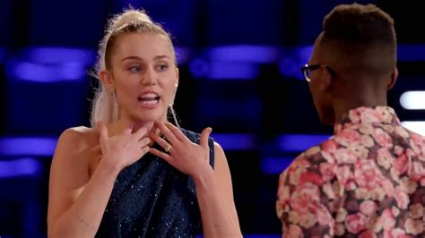 The Voice  Miley Cyrus  Best Moments Youtube