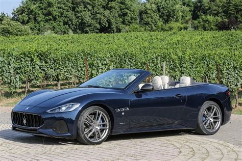 2018 Maserati Granturismo Coupe, Convertible First Drive