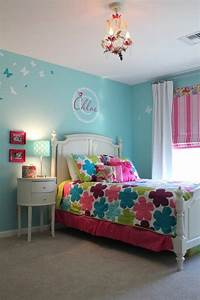 With bed room color for girls