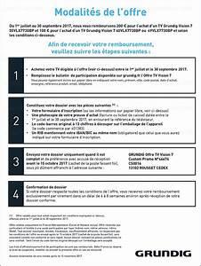 Offre De Remboursement : offre de remboursement tv ultra hd grundig vision 7 jusqu ~ Carolinahurricanesstore.com Idées de Décoration