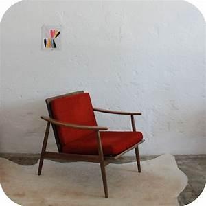 Fauteuil Vintage Scandinave : c668 mobilier vintage fauteuil scandinave vintage b ~ Dode.kayakingforconservation.com Idées de Décoration