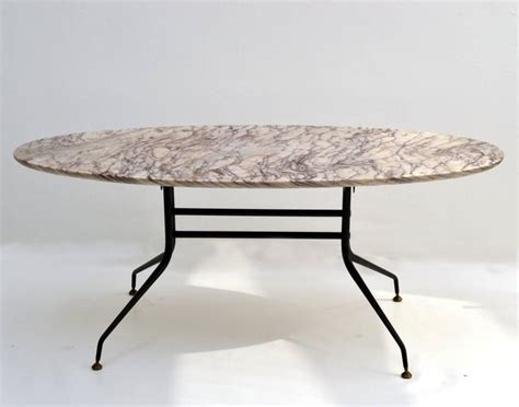 1950s Italian Oval Marble Coffee Table On Black Metal Coffee Makers Manufactured In Usa Malta Costa Europe Edinburgh Airport Xmas Cups Praha Online Queens Road Bristol