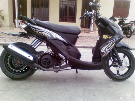 Modif Mio Soul Tapak Lebar by Modifikasi Mio Soul Ban Lebar Modifikasi Motor Kawasaki