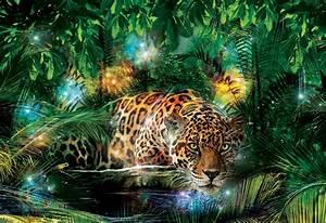 Wild Cat Jaguar wall murals Homewallmurals co uk