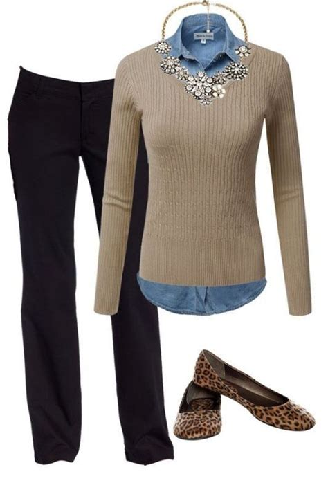 fashionable work outfit ideas  fall winter  glasses fashion trends winter
