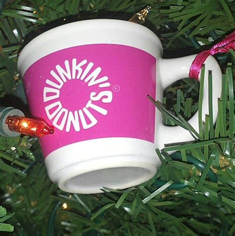 dunkin donuts christmas ornaments my photography