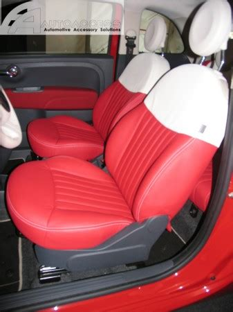 fiat  interior upgrade redwhite
