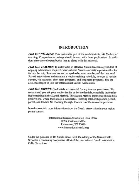 Suzuki Cello Book 4 by Suzuki Cello School Vol 4 Cello Part Piano Accompaniment