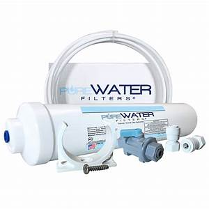 Inline Water Filter Kit for Refrigerators and Ice Makers ...