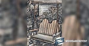 Adirondack Swing Plans • WoodArchivist