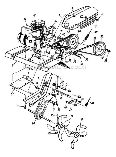 yard machines    parts list  diagram