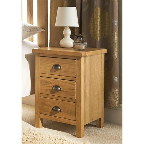 bm wiltshire oak  drawer bedside  bm