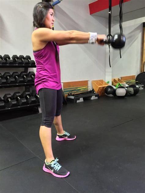 runners kettlebell exercises womensrunning kettlebells competitor workout