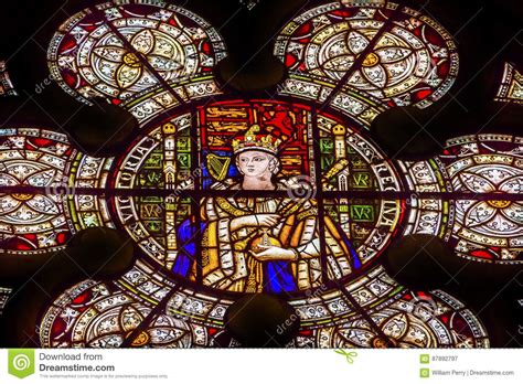 queen victoria stained glass westminster abbey london