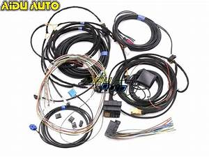 For Audi A4 B8 A5 B8 Q5 8r Update Upgrade Install Mmi System Wire Cable Harness  U0026 Gps Antenna