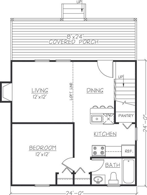 8 best 24x24 floor plans images by Jon Dunscomb on