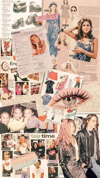 Collage Aesthetic Wallpapers 90s Iphone Inspo 90