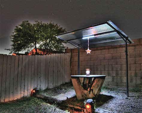 gazebo with solar powered led lighting flickr photo