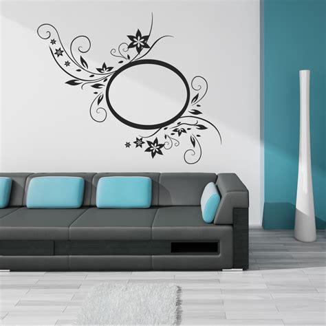adesivi murali cornici adesivi follia adesivo murale cornice fiori
