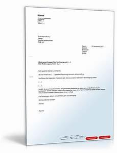 Widerspruch Rechnung Frist : vorlage widerspruch einer rechnung zum download ~ Themetempest.com Abrechnung