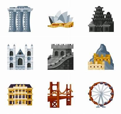 Landmarks Icon Tourism Packs