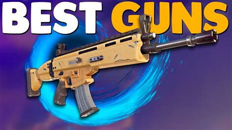 weapons guide fortnite battle royale youtube