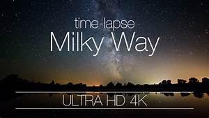 Night Sky Milky Way Galaxy On Lake by Parubochyi | VideoHive