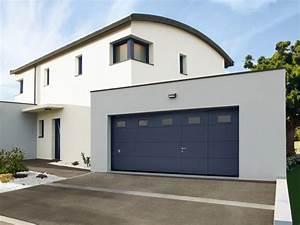 Porte de garage sectionnelle de grande taille for Grande porte garage