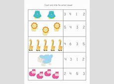 Preschool Math Worksheets Basic – Learning Printable