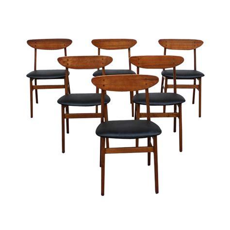 chaise vintage scandinave chaises scandinave en teck des ées 60 état