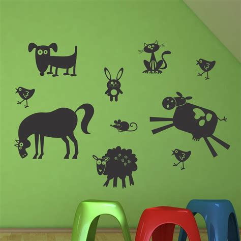whimsical farm animals wall quotes wall art decal wallquotescom