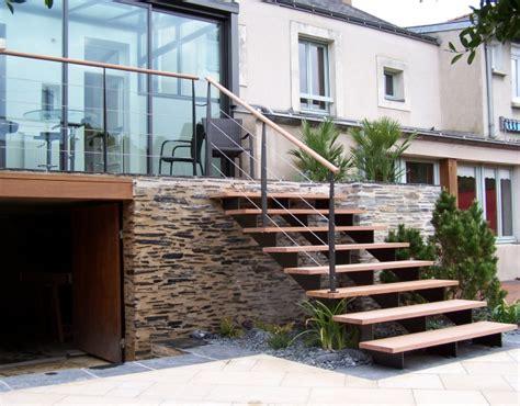 escalier exterieur recherche r 233 novations maison escalier ext 233 rieur