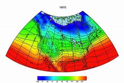Warming Global Canada Animation Temperatures