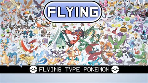 flying type pokemon youtube