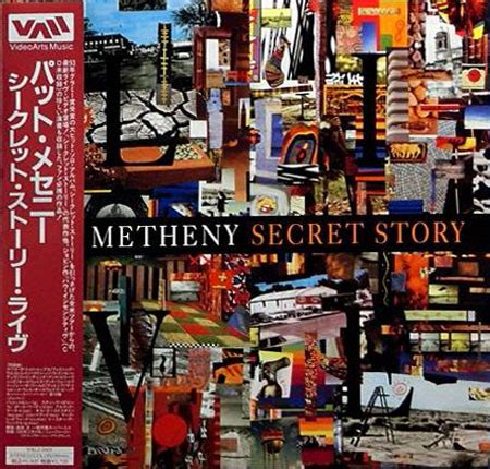 pat metheny finding and believing pat metheny secret story laserdisc at discogs