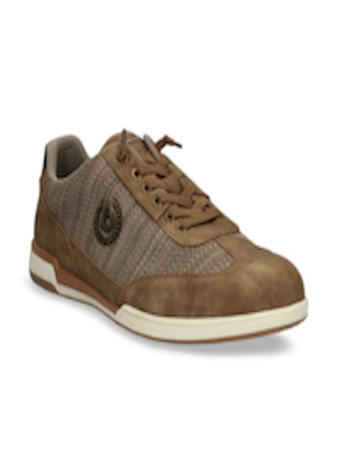 Well dressed yet informal is how bugatti likes to define their brand. Buy Bugatti Men Taupe Sneakers - Casual Shoes for Men 10633996 | Myntra
