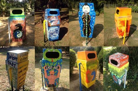 trash  street art upcycle art