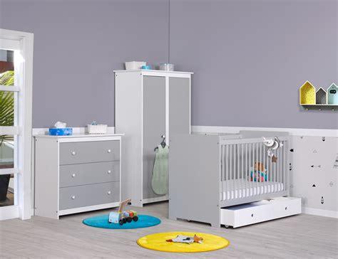 chambres bebe chambre bébé gris perle et blanc meuble chambre bébé