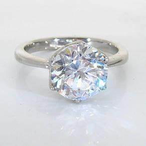 155 best engagement rings images on pinterest diamond With fake diamond wedding rings that look real