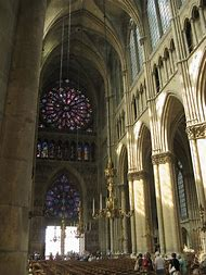 Nave Reims Cathedral Interior