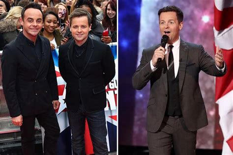 Declan Donnelly jokes about being apart from Ant McPartlin ...