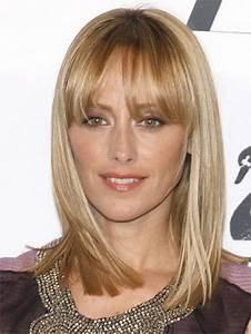 Frange Cheveux Mi Long : coupe de cheveux mi long visage ovale ~ Melissatoandfro.com Idées de Décoration