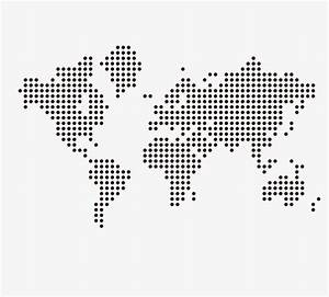 Dotted World Map Png | www.pixshark.com - Images Galleries ...