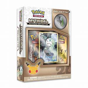 Meloetta Mythical Pokémon Collection | Collector's Pin