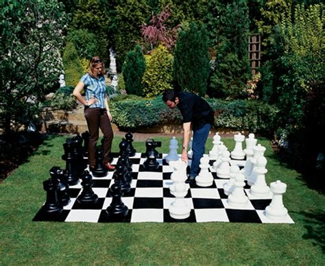 how to create your own sized backyard chess marc and mandy