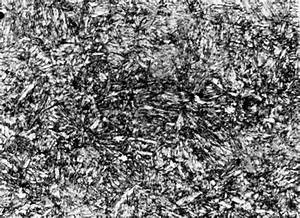Quenched Steel Microstructure