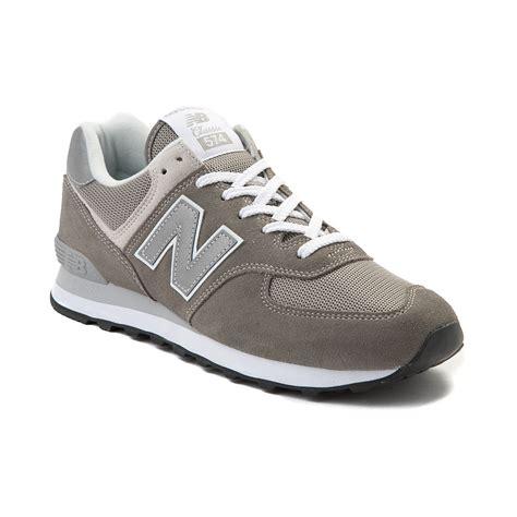mens new balance 574 classic athletic shoe gray 401676